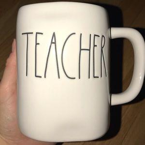 BRAND NEW Rae Dunn Teacher mug!!